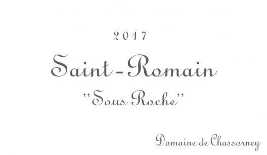 Saint-Romain Sous Roche 2017 | Frederic Cossard | Tutto Wines